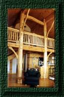 Click here to link to Northern Timberhouse Portfolio Pic - Round to Square #503