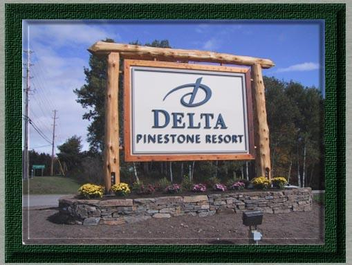 Picture of Delta Pinestone Resort Sign